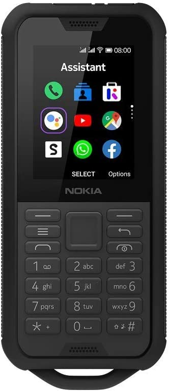 Nokia 800 Tough (TA-1186) Dual Sim Black Steel