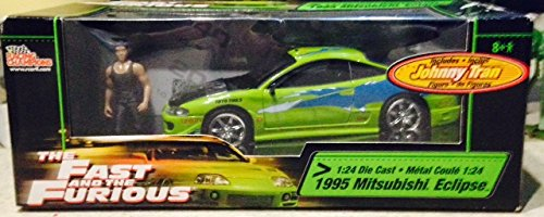 the fast and the furious 1995 mitsubishi eclipse 1 24 die. Black Bedroom Furniture Sets. Home Design Ideas