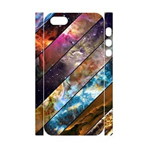 Galaxy Space Universe Customized 3D Cover Case for Iphone 5,5S,custom phone case ygtg553787