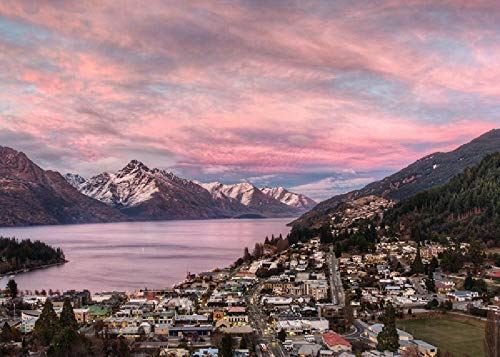Queenstown at Dusk-1000 Tablets DIY Puzzle Toys for Children