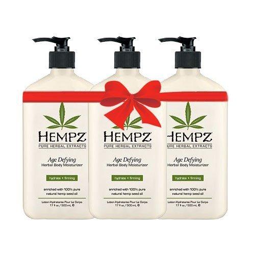 51kN6hRKcAL - Hempz Age Defying Herbal Body Moisturizer 17 Oz Pack Of 3, 17 Oz