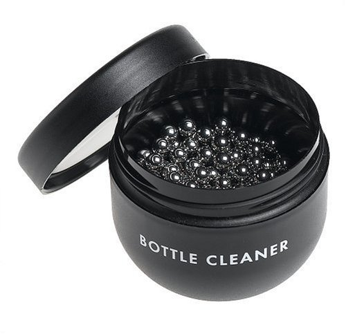 (Glass Decanter Cleaning Beads / 400 Reusable Stainless Steel Balls)