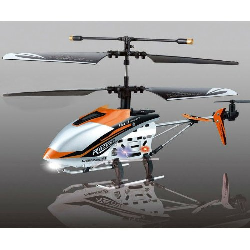 JXD 340 Drift King 4 Channel Infrared RC Helicopter Gyro Metal