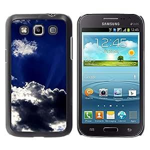 TopCaseStore / la caja del caucho duro de la cubierta de protección de la piel - Sun Clouds God Inspiring Sky Summer - Samsung Galaxy Win I8550 I8552 Grand Quattro