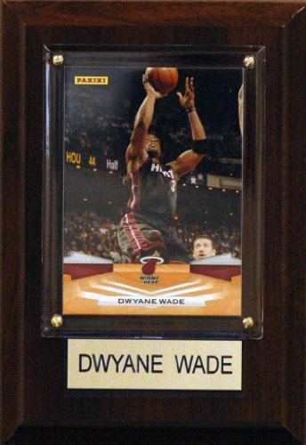 NBA 4 x6 Dwayne Wade Miami Heat Player Plaque for sale  Delivered anywhere in Canada