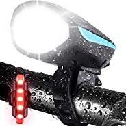 Bike Lights, LETOUR LED Bicycle Lights with Horn