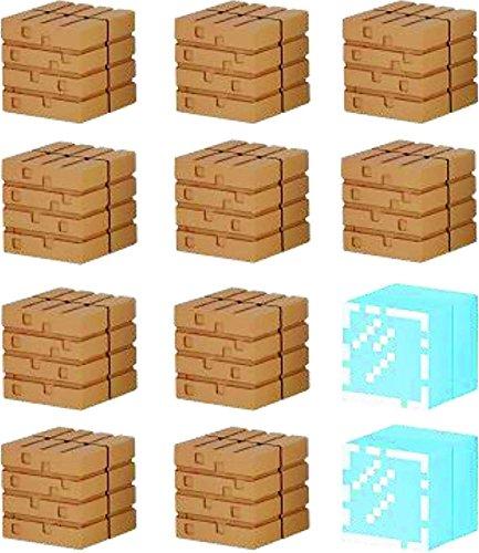 Mine-Keshi Minecraft Wood Planks & Glass Block - Glasses Craft Mine