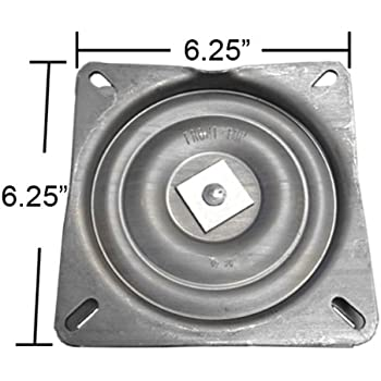 Amazon Com 7 Quot Replacement Bar Stool Swivel Plate Made