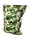 wet bag ecoable - BB2 Medium Minky Wet/ Dry Water Resistant Travel Grab & Go Cloth Diaper Bag (Medium 16