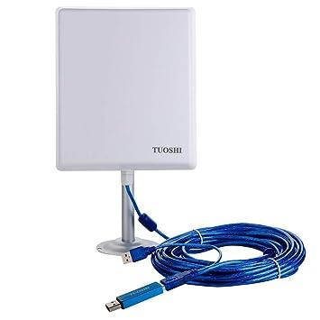 Amazon.com: TUOSHI N4000 - Tarjeta de red inalámbrica de ...