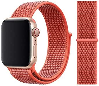 For Apple watch band Nectarine color for 38, 40 size.