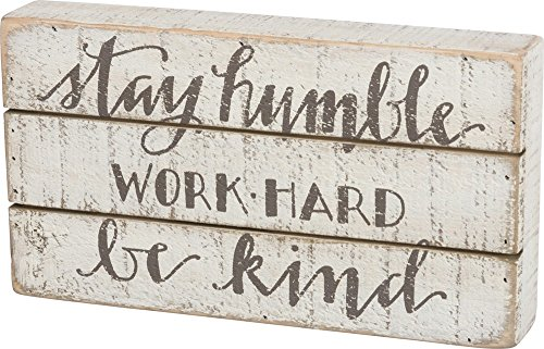 - Primitives by Kathy Hand Lettered Box Sign, 11