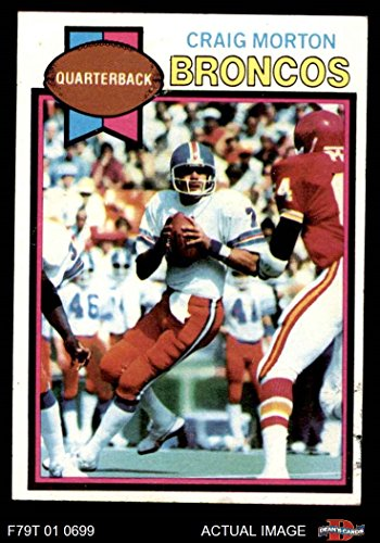 1979 Topps # 285 Craig Morton Denver Broncos (Football Card) Dean's Cards 5 - EX ()