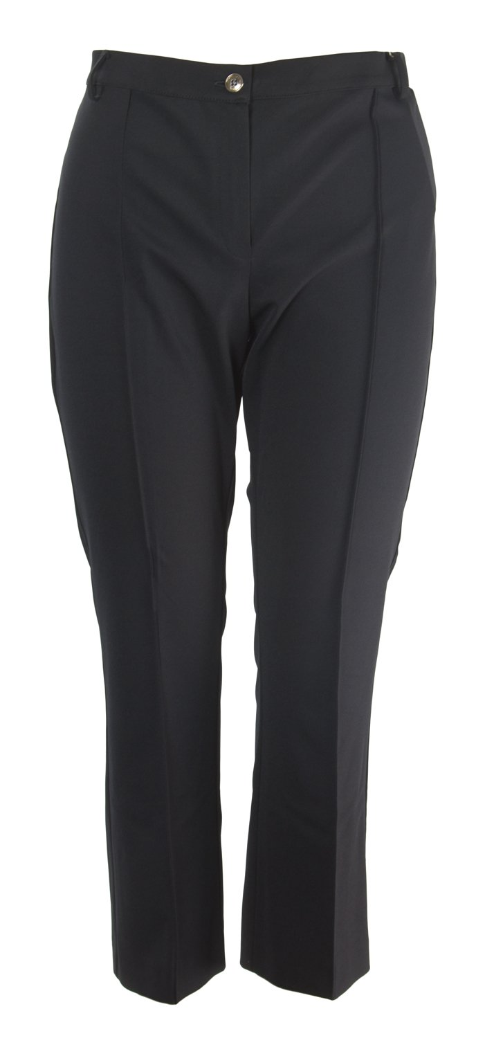 Marina Rinaldi Women's Raffa Slim Fit Trousers, Black, 22W/31