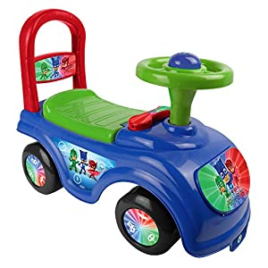 pj masks my first ride on car kids toddlers 4 wheel push along ride fun toy gift