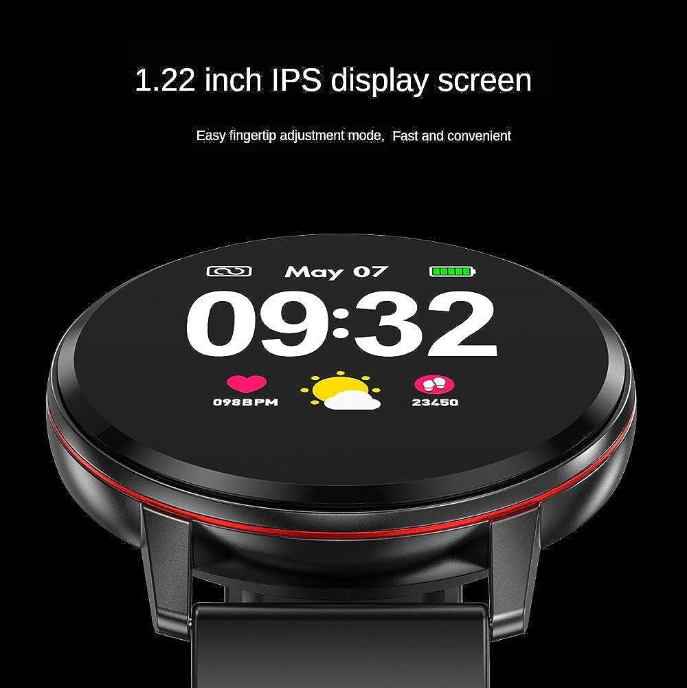 Guarda smart watch misurazione della pressione arteriosa cardiofrequenzimetro fitness braccialetto supporto orologio iOS Android Pink