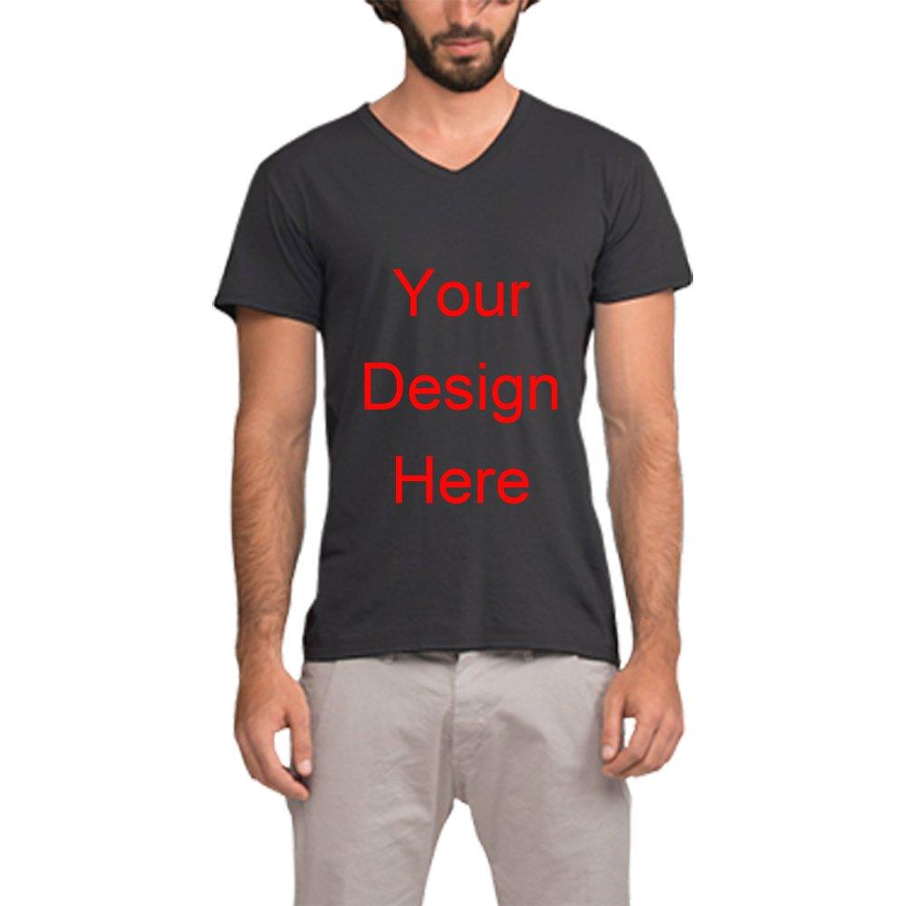 Amazon Custom T Shirt Design Mens V Neck T Shirts Tee Shirt