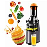 Cheap KOOLWOOM Masticating Extractor Slow Juicer, Cold Press Juicer,Cold Press Juicer Machine with 3″ Big Mouth,Easy to Clean and Use for All Fruits and Vegetables