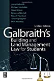 Galbraith's Building and Land Management Law for Students, Stockdale, Michael and Mitchell, Rebecca, 0080966926