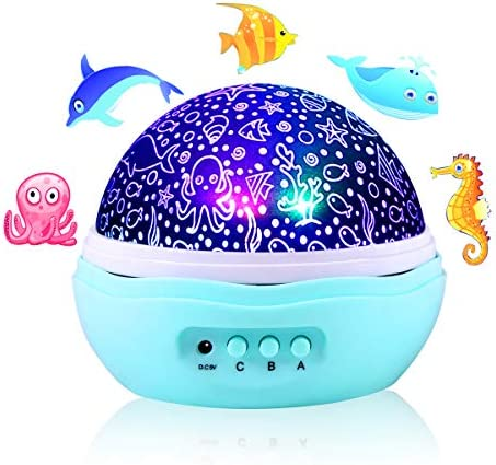 Projector Jellyfish Dolphin Rotation Included product image