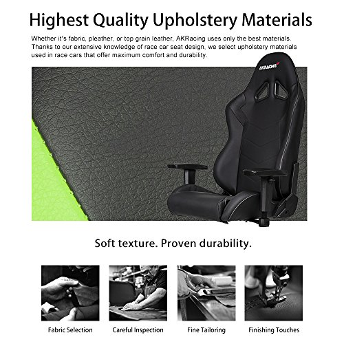 51kNCA9tGGL - AKRacing-Core-Series-SX-Gaming-Chair-with-High-Backrest-Recliner-Swivel-Tilt-Rocker-Seat-Height-Adjustment-Mechanisms-510-Warranty