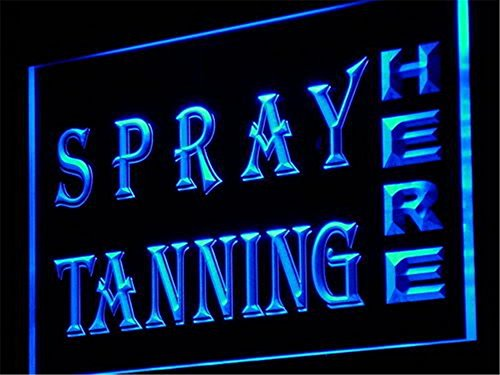 - APFoo Spray Tanning Shop Lure Display LED Neon Light Sign