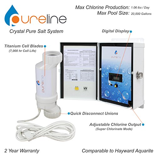 Crystal Pure Pool Salt System (20,000 gallons)