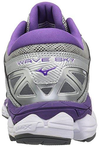 Venta barata Buena venta Cielo De Onda De Funcionamiento-zapatos De Plata De La Mujer Mizuno / Pensamiento / Castle Rock Sitio oficial barato en línea D9hssS