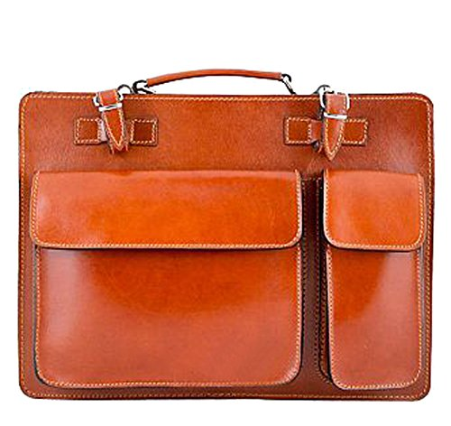 handle Top G amp;g Bag Pelletteria Cognac Men's IRRvwxqBU
