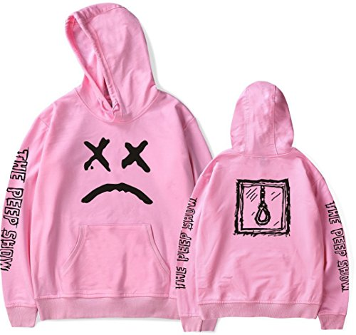 Unisex Peep Socluer Cool Con Felpa Pullover Spotlight Felpe Adolescente Cappuccio Pink Emo Lovers Lil Crybaby Rap Uq5xfn5XT