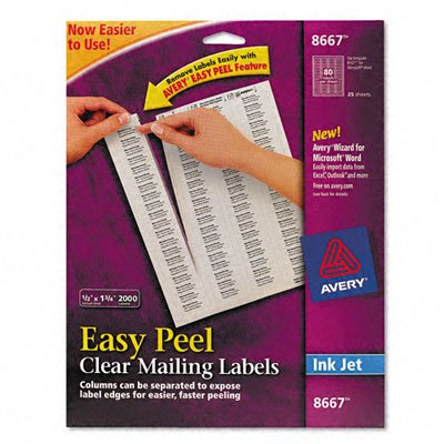 Avery(R) Permanent CD Labels, 8691, White, Pack Of 100 (Cd Permanent)
