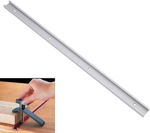 YNuth - Perfil en T de guía para sierra de mesa, 600 mm: Amazon.es ...