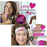 As Seen on TV: Eliminate curling iron burns! Love My Neck Protector and FREE