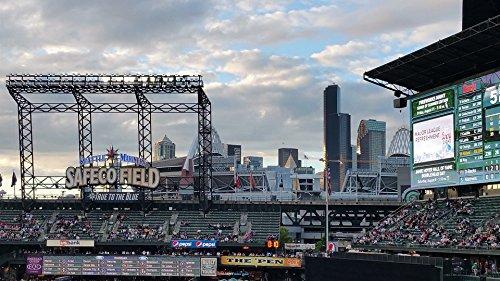 Home Comforts Canvas Print Baseball Mariners Seattle Game Washington Stadium Stretched Canvas 10 x 14