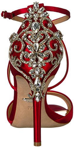 Badgley Mischka Women's Karmen Heeled Sandal Red z3CC6hJ