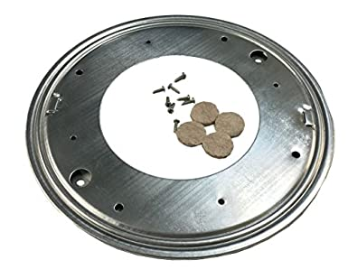 D.H.S. 12u0026quot; Lazy Susan Ball Bearing Turntable   1000 Lb. Capacity    Galvanized Steel