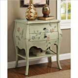 Coaster Accent Cabinet-Antique Green For Sale