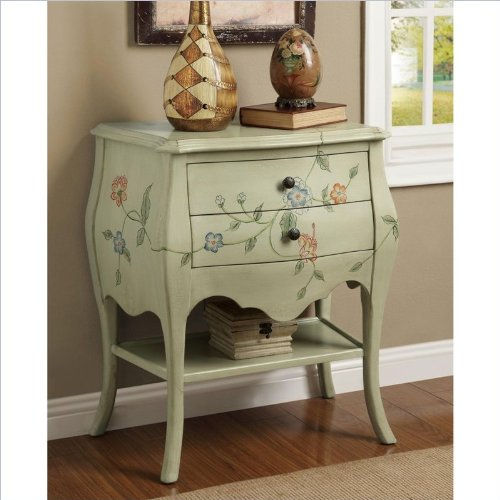 Coaster Accent Cabinet-Antique Green