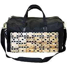 Dominoes Print Diaper/Baby Bag