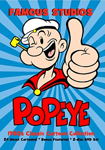 1940s Sailor Costume (Famous Studios Popeye 1950s Classic Cartoon Collection 2-disc DVD)