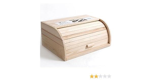 Compra Wooden - Caja Pan persiana Madera, 37, 5x26, 5x16cm. en Amazon.es
