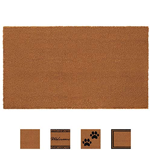 Gorilla Grip Premium Durable Coir Door Mat