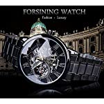 51kNH10S6RL. SS150  - Forsining 3D Hollow Engraving Full Black Clock Luminous Design Black Stainless Steel Men's Mechanical Watches Top Brand Luxury