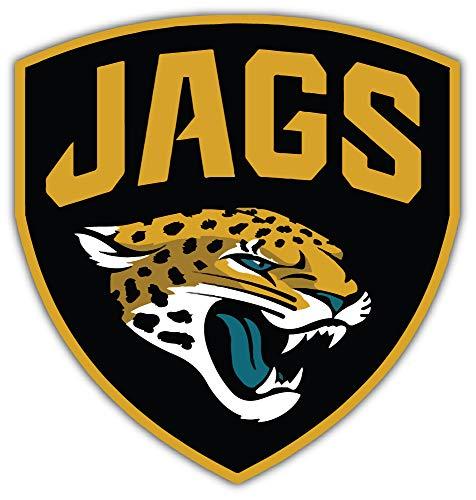 Sport Jacksonville Jaguars NFL Car Bumper Sticker Decal 5'' X 5''