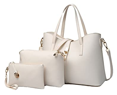 Amazon.com: King Ma de la mujer piel sintética bolso cartera ...
