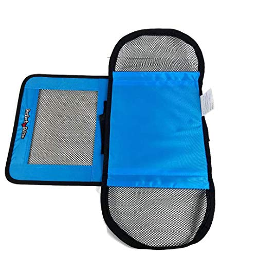 Perfect Petzzz Sturdy Blue Nylon and Mesh Zippered Tote For Carrying Your Plush