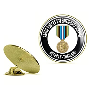 HOF Trading Gold US Army Army Army Expeditionary Medal Tailandia ...