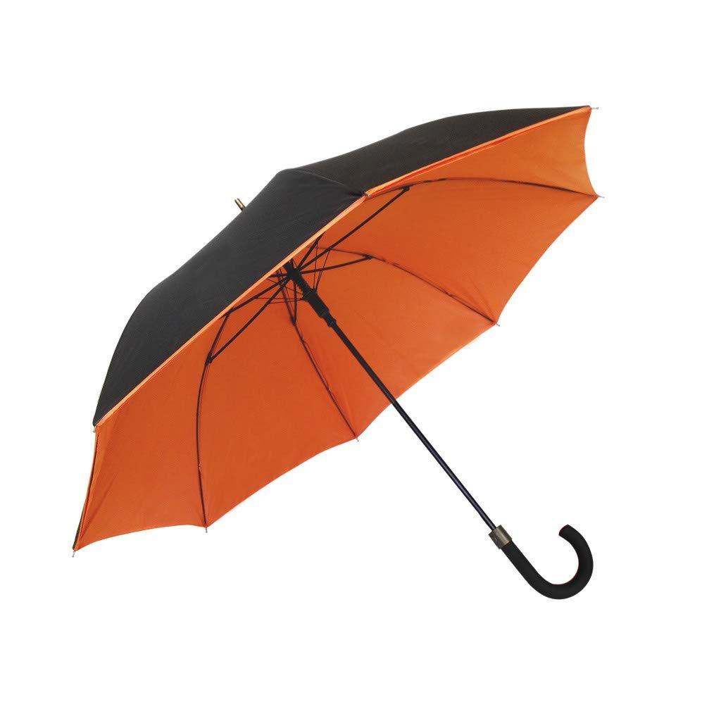 SMATI Parapluie Double Toile résistant au Vent Orange