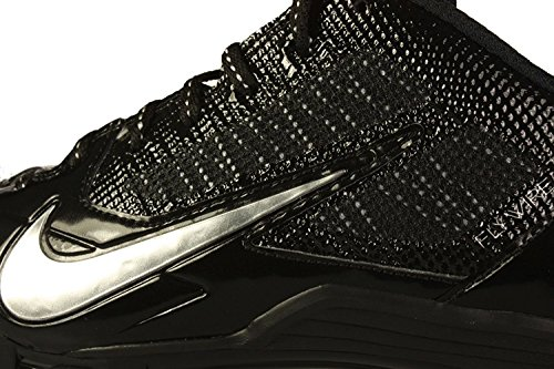 Pro Silver Metallic Mens Cleats Alpha Nike 14 Football US TD Black 6ZEYpqw