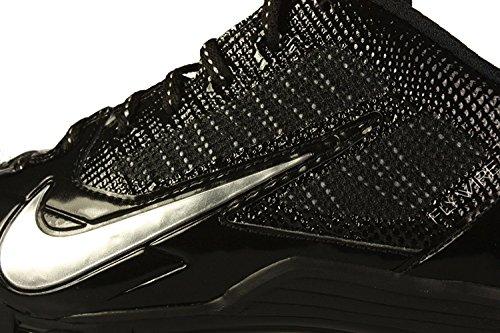 Black Nike Metallic Mens US Silver Alpha Football Pro Cleats TD 14 OOpITq
